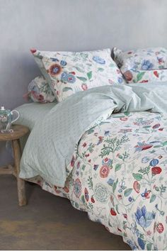 Show details for Duvet cover Spring to life petit White