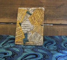 Sheet Music Mini Composition Notebook with by northwildwoodgardens, $5.95