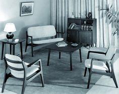 Interior with Michael Van Beuren pieces, 1951…