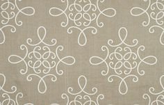 Crown Scroll fabric at Beacon Hill
