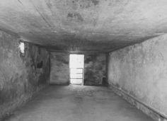 Interior of a gas chamber at the Majdanek camp. Majdanek, Poland, after July 24, 1944. — Archiwum Panstwowego Muzeum na Majdanku; US Holocaust Memorial Museum.