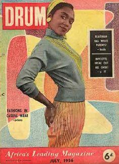 Drum magazine (Africa), July 1956  Source: 16 Stone Vintage