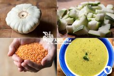POLÉVKA Z PATIZONU Cantaloupe, Soup Recipes, Fruit, Ethnic Recipes, Food, Soups, The Fruit, Soup, Meals