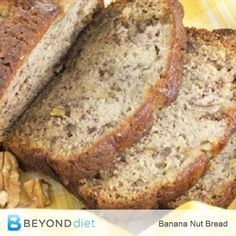Banana Nut Bread - A delicious gluten-free bread - great for a snack or for breakfast!