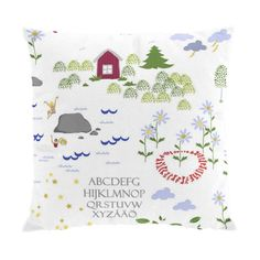 Arvidssons Textil ~ Lillan kuddfodral 50x50 cm - SovrumsShoppen.se