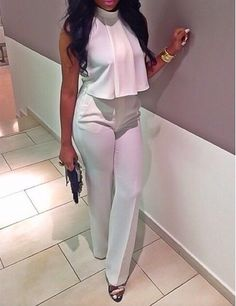 expensivetastexox: ♡ Everything girly girl 👸💗👸💗 All White Outfit, White Outfits, Classy Outfits, Casual Outfits, Fashion Outfits, White Fashion, I Love Fashion, Passion For Fashion, Fashion Looks