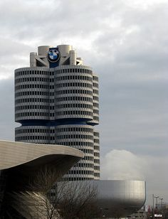 BMW Museum, Olympiapark, Munich, Germany by mariaus.