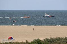 KNRM zoekt samen met strandwacht