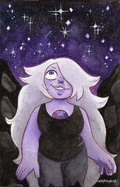 Steven Universe Amethyst - I will fight for the World I Was Made in by livielightyear
