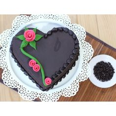 in Provide Online Heart Shape Cake Delivery, Online Chocolate Cake Order in Delhi, Special Heart Shape Cake in Noida, Delhi and Gurgaon Heart Shaped Chocolate, Chocolate Hearts, Cake Decorating Supplies, Cake Decorating Tutorials, Heart Shape Cake Design, Online Cake Delivery, Heart Shaped Cakes, Tasty Chocolate Cake, Fashion Cakes