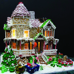 Award winning gingerbread Houses | Build a Championship Gingerbread House with Minuteman!