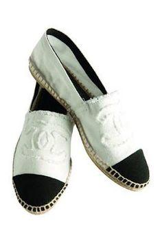 3593c88fce25     chez so     Chanel Espadrilles - Perfect summer shoe