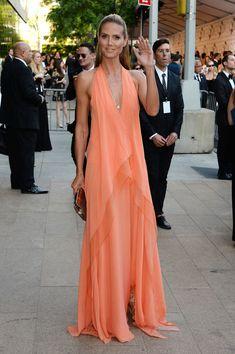 Donna Karan - Style Crush: Heidi Klum on the Red Carpet - Photos