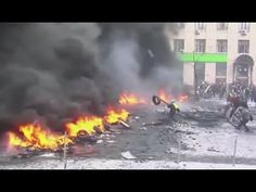 Deadly Clashes In Ukraine Protests