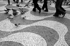 Lisbon Pavement Art 1