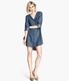Denim Dress   Product Detail   H&M