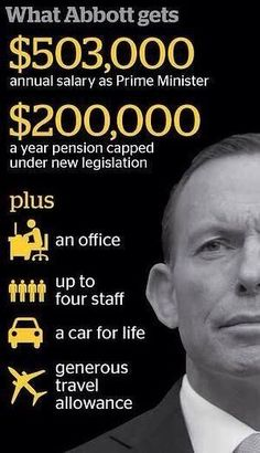 "Tony doing the ""Heavy lifting"" #auspol"