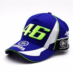 40e09cf1c01 MOTO GP 46 Motorcycle Valentino Rossi F1 Racing Snapback Caps VR46 YAMAHA  Hat