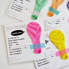 Invitation Ballon