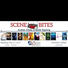 #NorthCarolina #booklovers, if you're in the Raleigh area on Saturday, May 27, please stop by!  . . . #authorevent #booksigning #meetandgreet #BetterInTheMorningBook