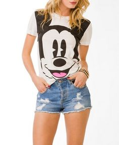 Mickey Mouse® Tee | FOREVER 21 - 2040496172