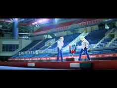 Love this new TV ad from EDF, official electricity supplier of London 2012. The ad features EDF engineers 'testing' various sporting venues to ensure they're in working order for the Games, with cyclist Victoria Pendleton appearing to check everything is ready.