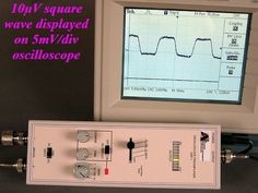 ARiCorp USA Gerät Extends standard Oscilloscopes Sensitivity up to Sensitivity, Office Phone, Landline Phone, Ebay, Display, Floor Space, Billboard