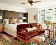 Designer India Mahdavi brings her signature sophisticated style to a family's rural Connecticut estateFormer Vogue and Vanity Fair art director Charles Churchward finds fresh inspiration at a serenely modern Santa Fe homeDecorator Mario Buatta puts his joyous stamp on Patricia Altschul's spectacular 1850s South Carolina mansionIsaac Mizrahi's Greenwich Village home channels the designer's trademark flair