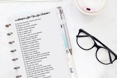Get Your Productivity Under Control with These Awesome Free Planner Inserts and Downloads!