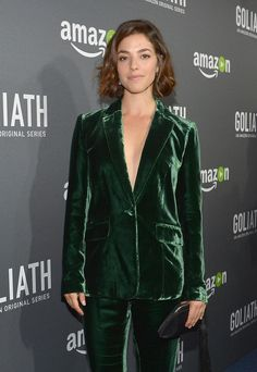 """Actress Olivia Thirlby attends the Amazon red carpet premiere screening of original drama series """"Goliath"""" at The London West Hollywood on September 29, 2016 in Los Angeles, California."""