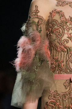 See all the details from Marchesa's Fall 2017 runway show at New York Fashion Week
