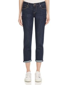 Paige Jimmy Jimmy Crop Jeans in Highland