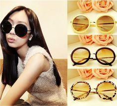 Sunglasses female vintage circle 2014 sunglasses star style fashion male sunglasses 1SU0007 US $3.50