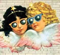 fiorucci angels - high school in the 80's...