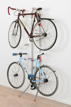 Double-Tiered Bike Rack for me and the manly friend