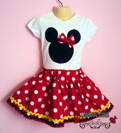 I would LOVE to have this cute little outfit for our daughter (if we have one) when we go to Disney someday!