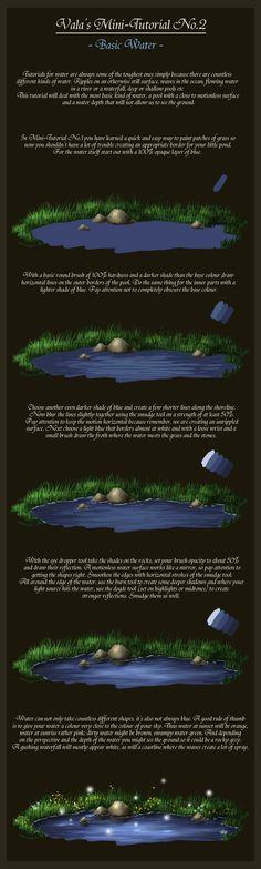 Mini-Tutorial No.2 - Basic Water- by ValaSedai on deviantART