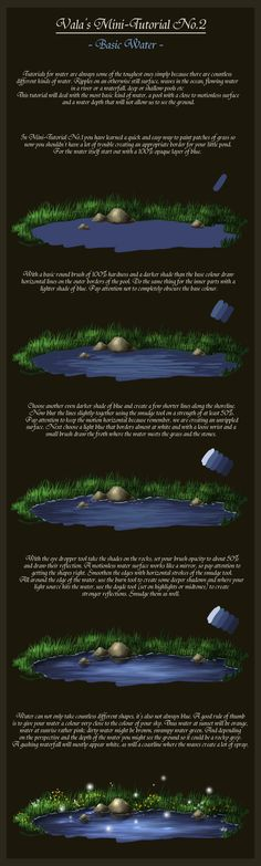 Mini-Tutorial No.2 - Basic Water- by ValaSedai on deviantART