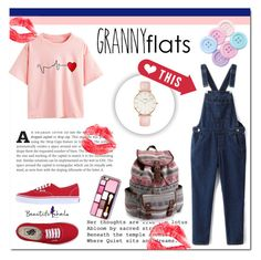 """""""Beautifulhalo 59"""" by mini-kitty ❤ liked on Polyvore featuring Vans, Aéropostale, CLUSE, women's clothing, women, female, woman, misses, juniors and bhalo"""