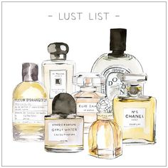 LUST LIST | NEW SUMMER SCENT What's your fave? xx