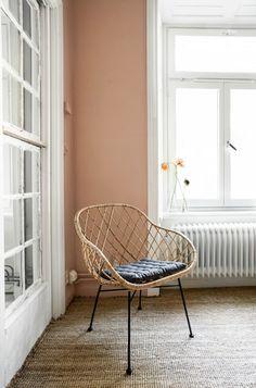 A Peachy Keen Nordic Apartment