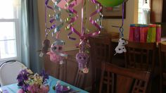 Beanie Boo key chains as party favors and decorations