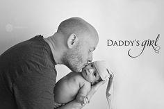 Padre e hija. La niña de papá.