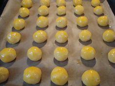 Sajtfánk, sajtos pufi recept lépés 5 foto Eggs, Fruit, Breakfast, Food, Breakfast Cafe, Egg, Essen, Yemek, Meals