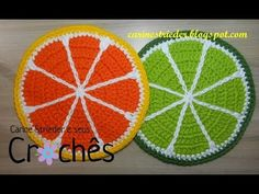 Workout That Replaces High-Intensity Cardio - Colorful Crochet Crochet Fruit, Crochet Food, Crochet Kitchen, Love Crochet, Crochet Motif, Crochet Doilies, Crochet Flowers, Knit Crochet, Crochet Patterns