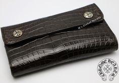 クロムハーツ 財布 コピー WAVEウェーブウォレット/アリゲーター Chromehearts 012