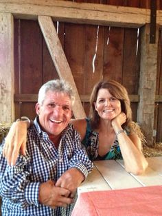 Matt Roloff and his sister