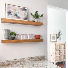 Open Shelving, Home Kitchens, Floating Shelves, Minimalism, Simple, Interior, Modern, Blog, Diy