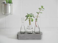 DIY concrete vase - DIY betonvase