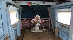 Grave House interior
